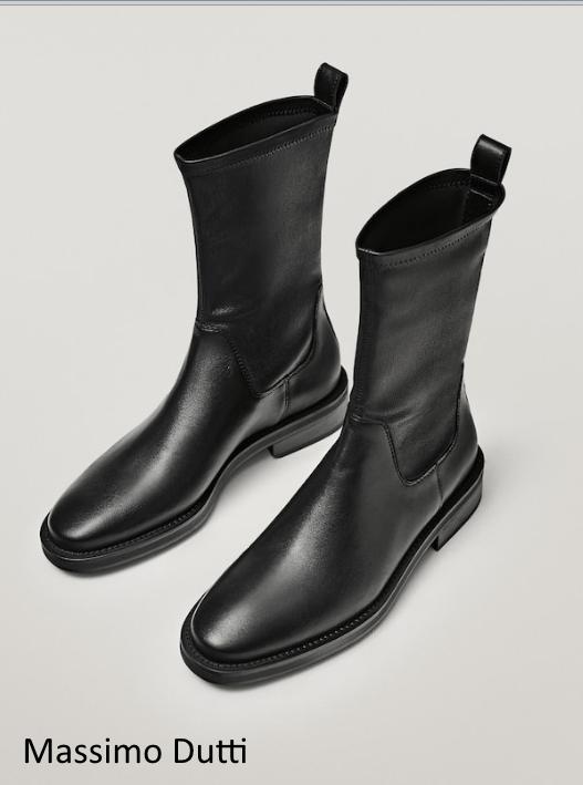 черные ботинки осень
