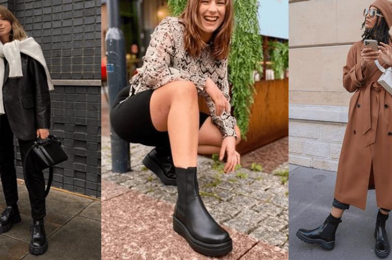 Главная покупка на осень: черные ботинки