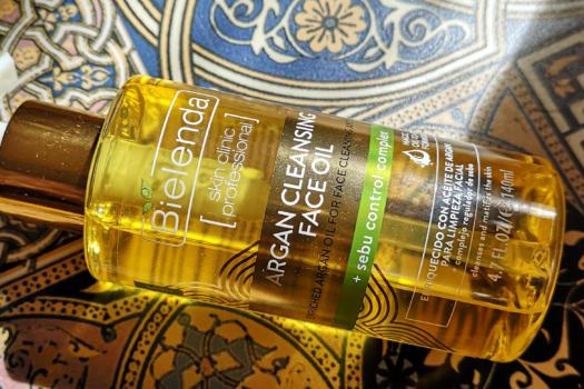 Гидрофильное  масло для умывания Bielenda Argan Cleansing Face Oil