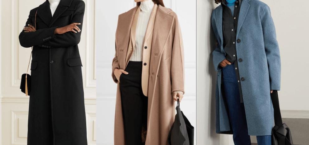 пальто тренды осени