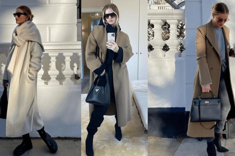 Идеи с пальто для весны