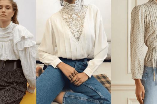 Барышня-крестьянка: тренд на романтические блузки