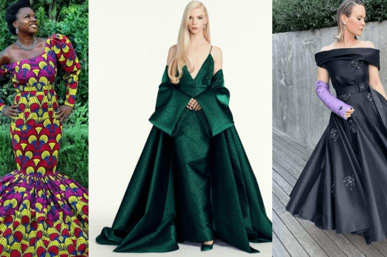Самые впечатляющие платья с красной дорожки Golden Globes 2021