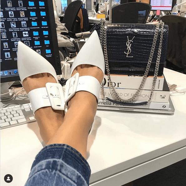стиль туфли