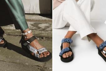 С чем носить сандалии в спортивном стиле