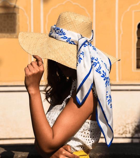 летние идеи платков