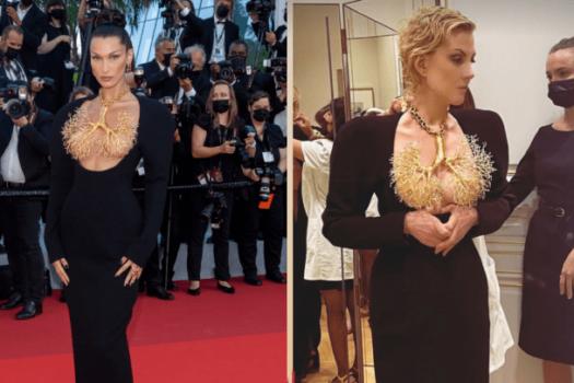 Большая разница: Белла Хадид и Рената Литвинова