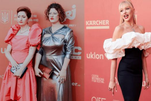Красная дорожка Одесского кинофестиваля – обзор нарядов
